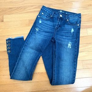 7 For All Mankind The Skinny Girls size 12